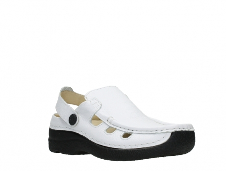 wolky clogs 06220 roll multi 70100 white printed leather_4