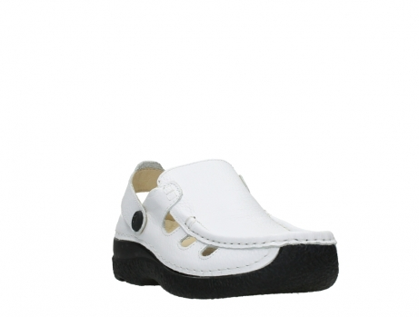 wolky clogs 06220 roll multi 70100 white printed leather_5