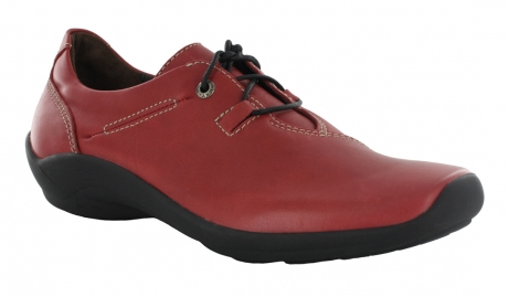 wolky lace up shoes u 01661 rosa 50500 red leather