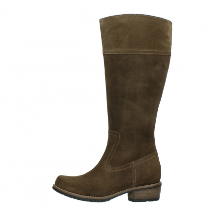 wolky high boots 00553 tinto 40310 mid brown oiled suede_1