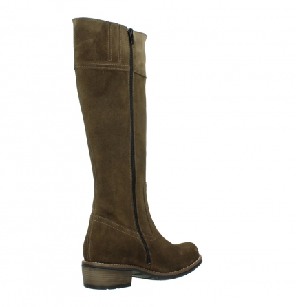 wolky high boots 00553 tinto 40310 mid brown oiled suede_10