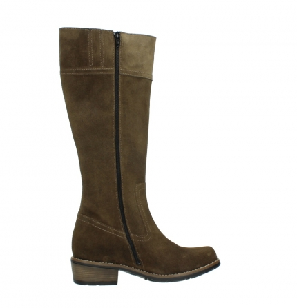 wolky high boots 00553 tinto 40310 mid brown oiled suede_12
