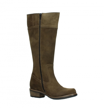 wolky high boots 00553 tinto 40310 mid brown oiled suede_15