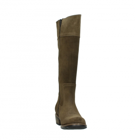 wolky high boots 00553 tinto 40310 mid brown oiled suede_18