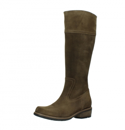 wolky high boots 00553 tinto 40310 mid brown oiled suede_23