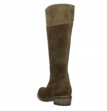 wolky high boots 00553 tinto 40310 mid brown oiled suede_5