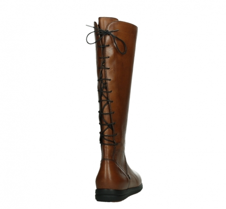 wolky high boots 02426 vector 20430 cognac leather_20