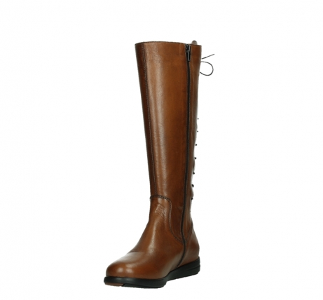 wolky high boots 02426 vector 20430 cognac leather_9