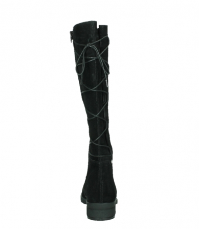 wolky high boots 02633 longview 45000 black suede_19