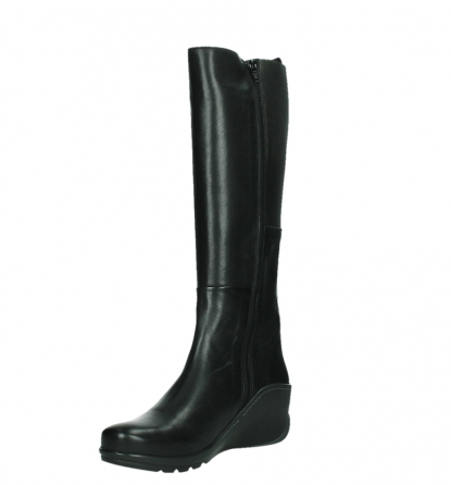 wolky high boots 03877 tanana 30000 black leather_10