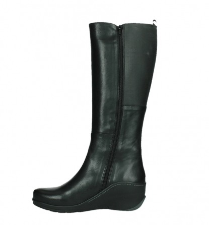 wolky high boots 03877 tanana 30000 black leather_13