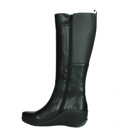 wolky high boots 03877 tanana 30000 black leather_14