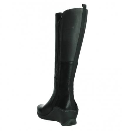 wolky high boots 03877 tanana 30000 black leather_17