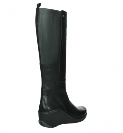 wolky high boots 03877 tanana 30000 black leather_22