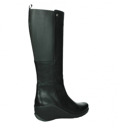 wolky high boots 03877 tanana 30000 black leather_23