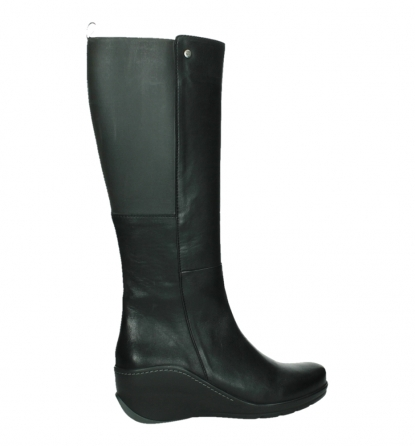 wolky high boots 03877 tanana 30000 black leather_24