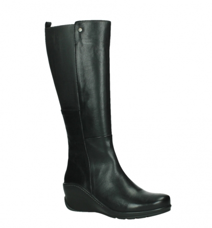 wolky high boots 03877 tanana 30000 black leather_3