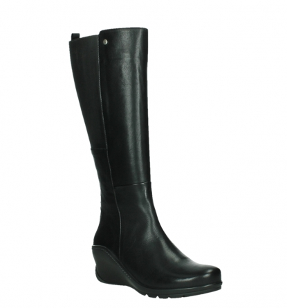wolky high boots 03877 tanana 30000 black leather_4