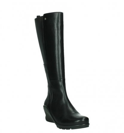 wolky high boots 03877 tanana 30000 black leather_5