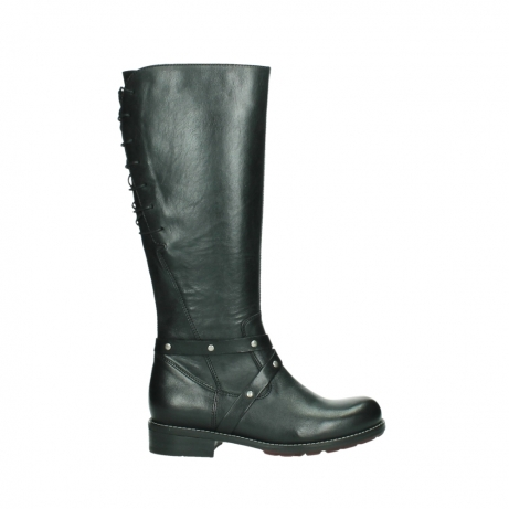 wolky high boots 04433 belmore 20000 black leather