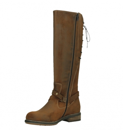 wolky high boots 04433 belmore 45410 tobacco suede_10