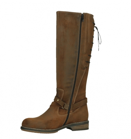 wolky high boots 04433 belmore 45410 tobacco suede_11