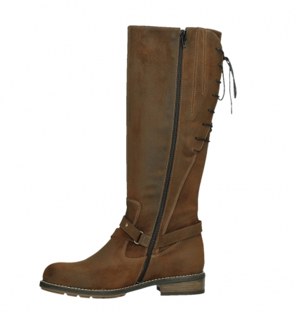 wolky high boots 04433 belmore 45410 tobacco suede_12