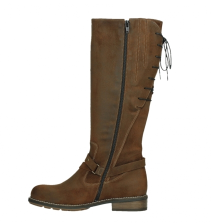 wolky high boots 04433 belmore 45410 tobacco suede_13