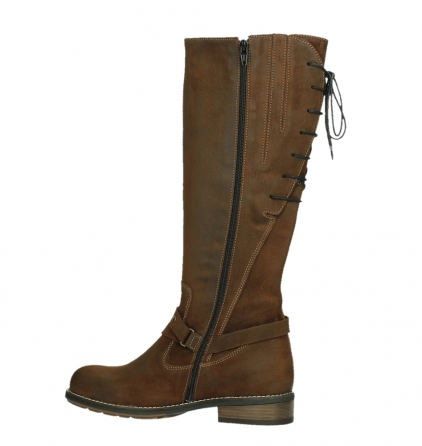 wolky high boots 04433 belmore 45410 tobacco suede_14