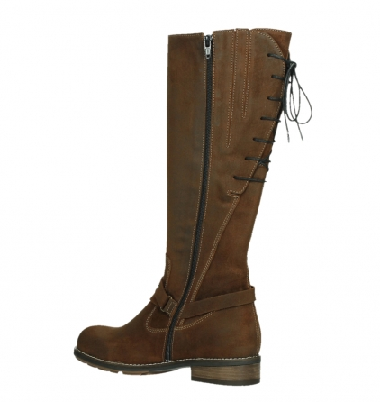 wolky high boots 04433 belmore 45410 tobacco suede_15