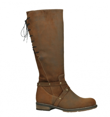 wolky high boots 04433 belmore 45410 tobacco suede_2