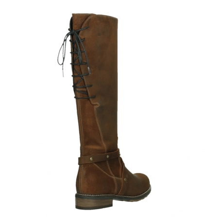 wolky high boots 04433 belmore 45410 tobacco suede_21