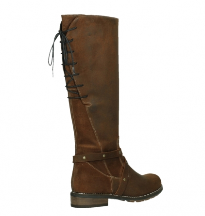 wolky high boots 04433 belmore 45410 tobacco suede_22
