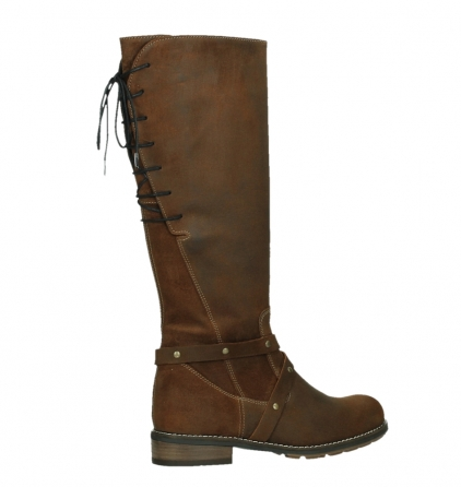 wolky high boots 04433 belmore 45410 tobacco suede_23