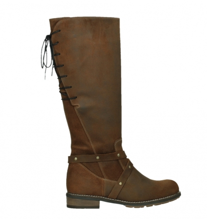 wolky high boots 04433 belmore 45410 tobacco suede_24