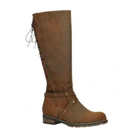 wolky high boots 04433 belmore 45410 tobacco suede_3