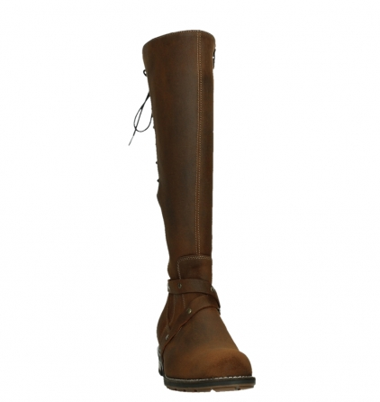 wolky high boots 04433 belmore 45410 tobacco suede_6