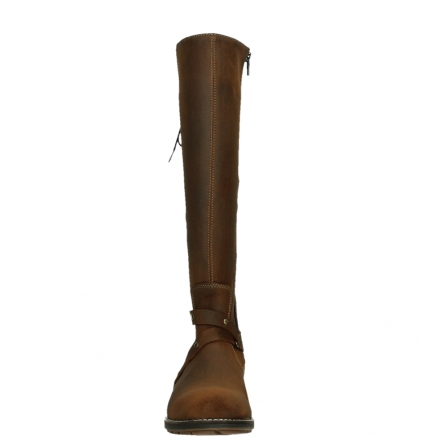 wolky high boots 04433 belmore 45410 tobacco suede_7