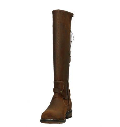 wolky high boots 04433 belmore 45410 tobacco suede_8