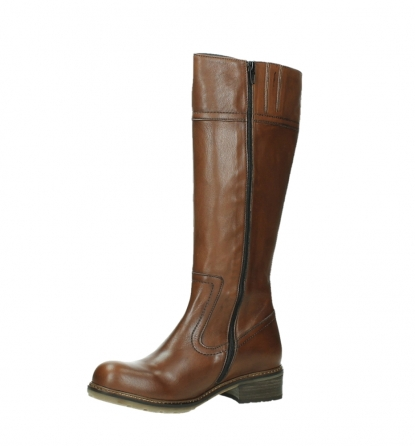 wolky high boots 04477 moher 32430 cognac leather_11