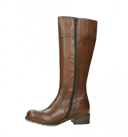 wolky high boots 04477 moher 32430 cognac leather_12