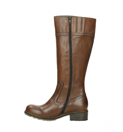 wolky high boots 04477 moher 32430 cognac leather_13