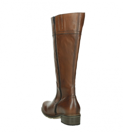 wolky high boots 04477 moher 32430 cognac leather_17