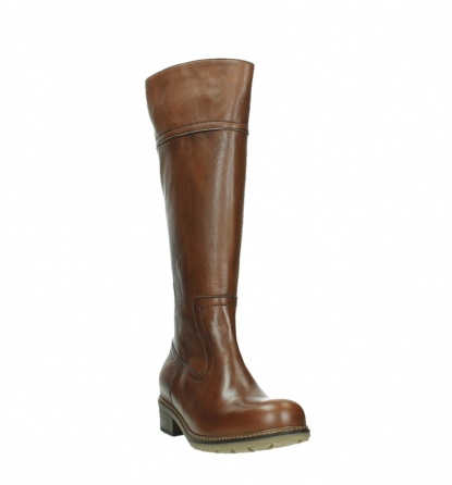 wolky high boots 04477 moher 32430 cognac leather_5