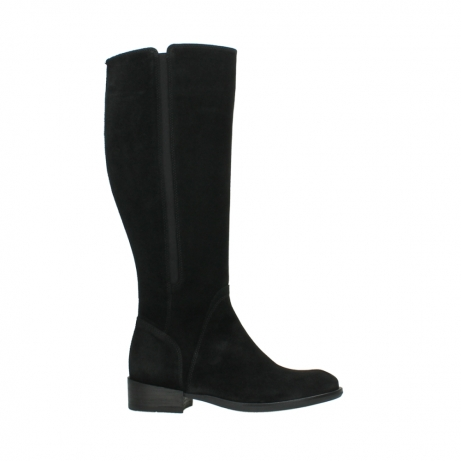 wolky high boots 04513 earl 40000 black suede