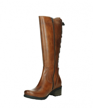 wolky high boots 07505 seoul 30430 cognac leather_10