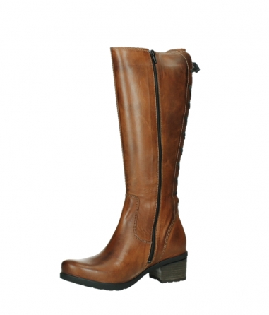 wolky high boots 07505 seoul 30430 cognac leather_11