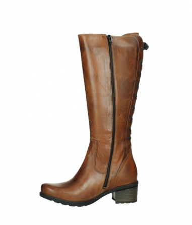 wolky high boots 07505 seoul 30430 cognac leather_12