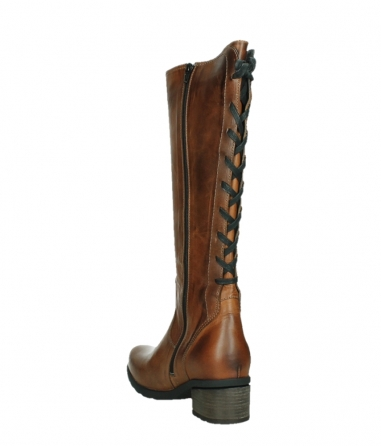 wolky high boots 07505 seoul 30430 cognac leather_17