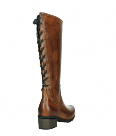 wolky high boots 07505 seoul 30430 cognac leather_21